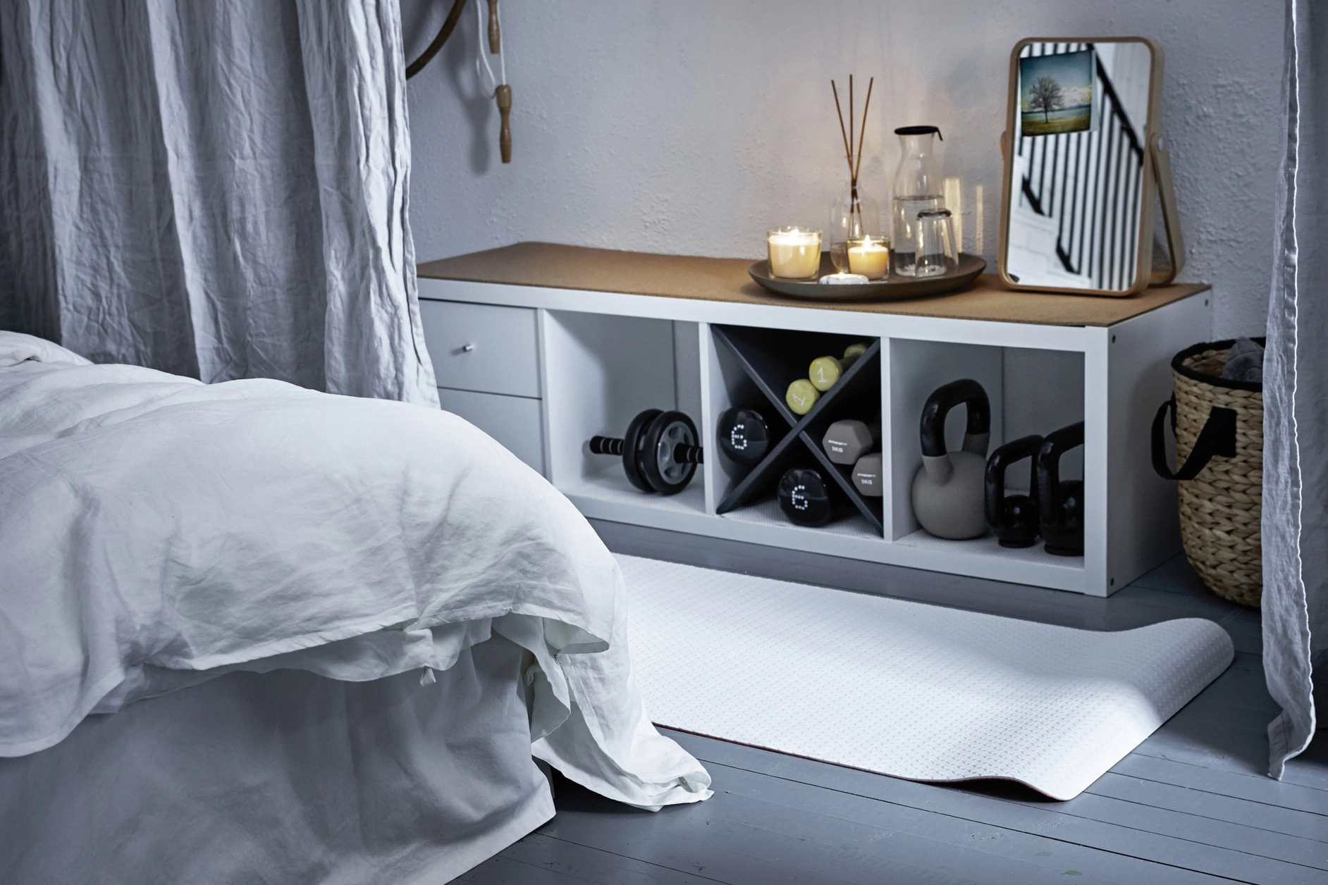Carve Out A Nook In Your Bedroom